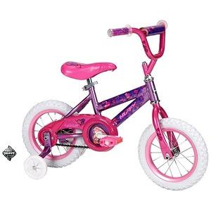 """Huffy Sea Star 12"""" Girls' Bike, Purple getting a new bike for sky for birthday maybe"""