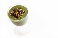 Thin Mint Girl Scout Cookie Green Monster Smoothie