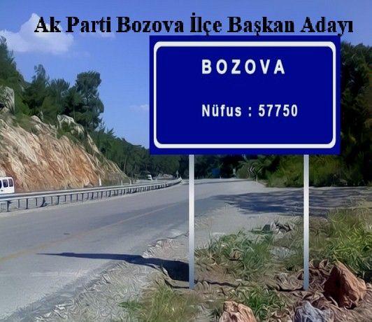 Ak Parti Bozova İlçe Başkan Adayı
