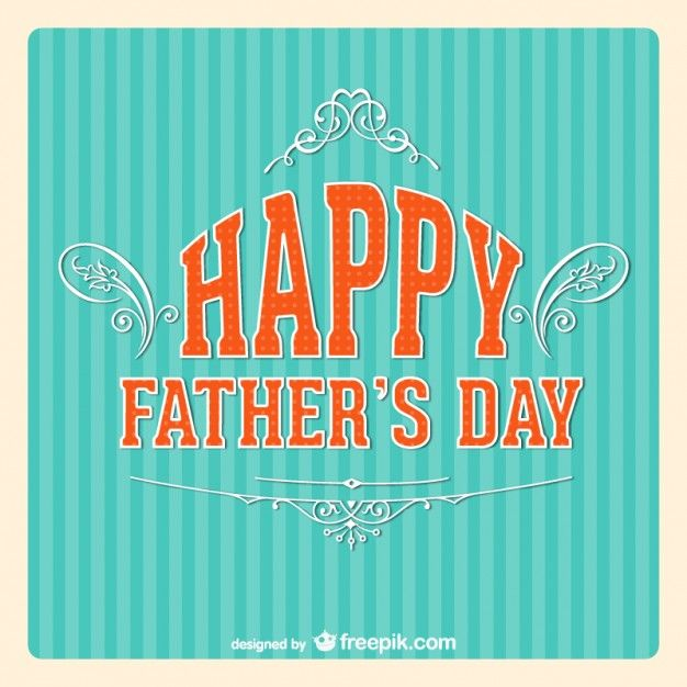 fathers day cards vector