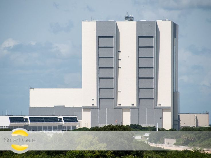 Did you know, that the largest doors in the world are the entances to NASA'S Vehicle Assembly Building? These doors are approximately 139 meter high and take about 45 minutes to open. Luckily, with the iBlue Smart Gate you can open yours much faster.