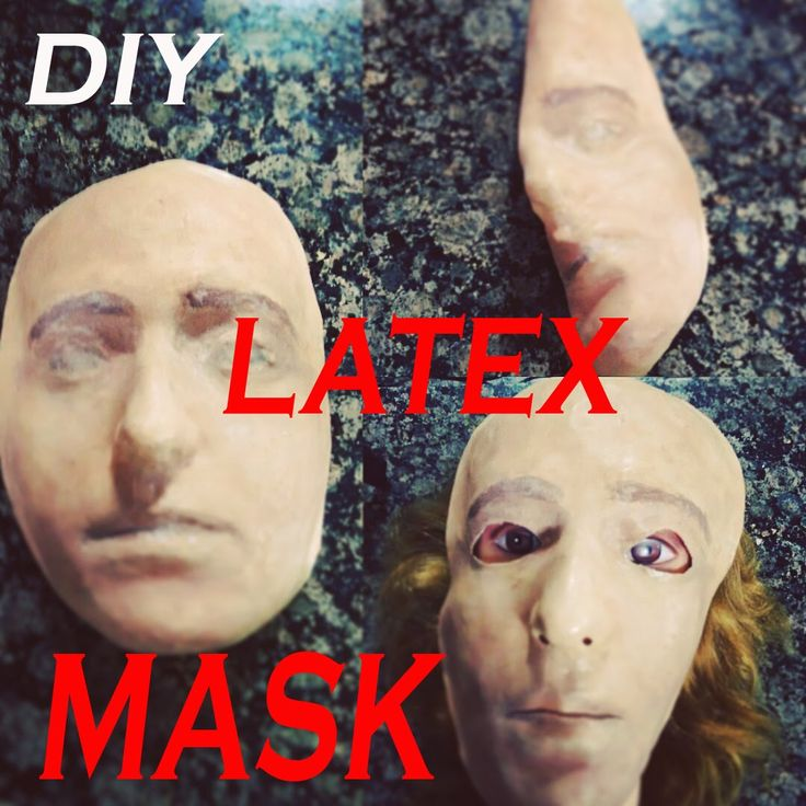 DIY: MASCARA DE LATEX/ DIY: LATEX MASK (p1)