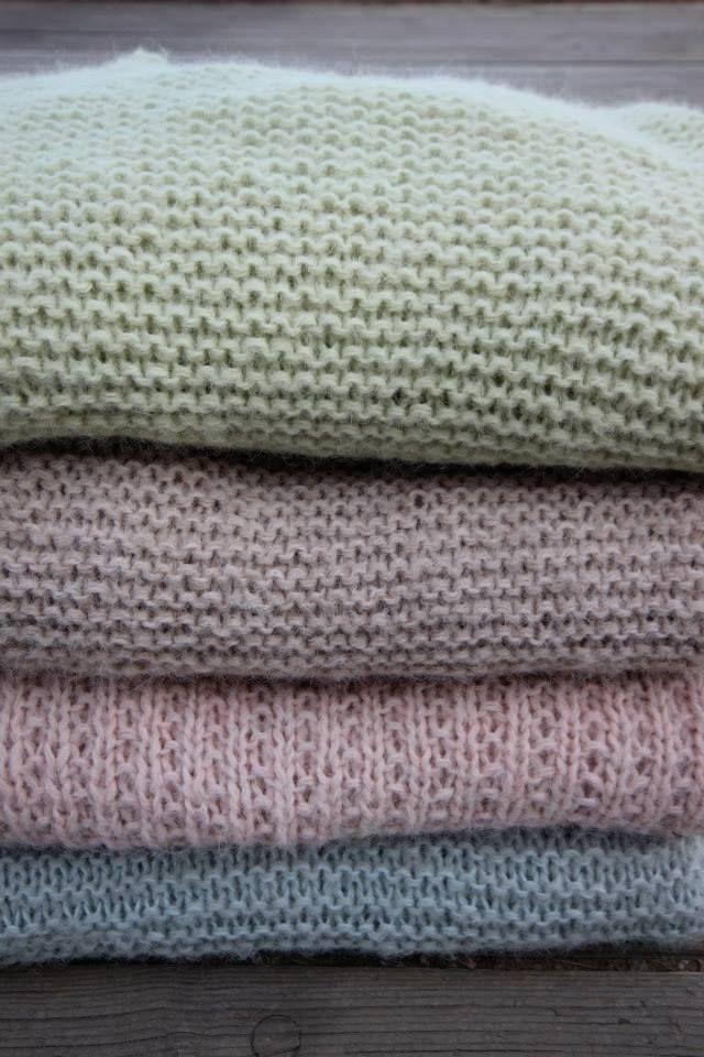 Skappelgarn i vårens farger 2014 #skappel #sandnesgarn #strikk #knit