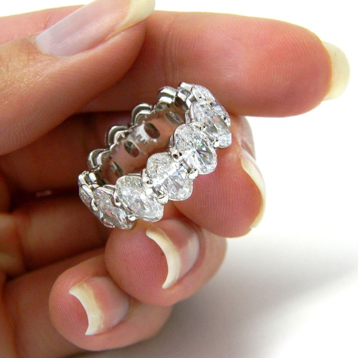 1000 Ideas About Diamond Eternity Rings On Pinterest
