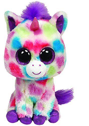 Ty - Doudou Enfant- Peluche - Beanie Boo's - Wishful La Licorne - 27 Cm: Amazon.fr: Jeux et Jouets