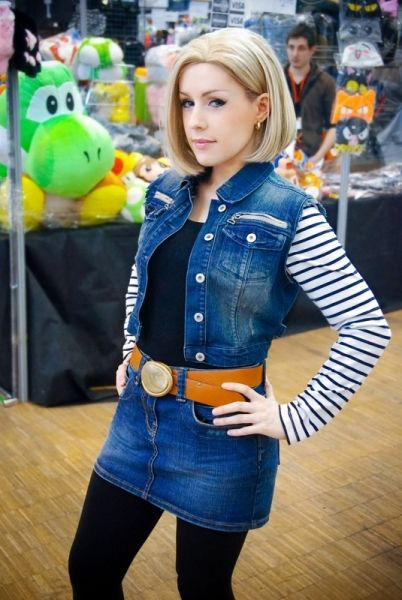 C18 cosplay wow pinterest android 18 cosplay and android - Dragon ball z c18 ...