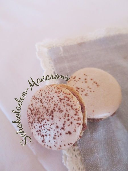 Chocolate Macaron with Tonkabean-Ganache - Recipe