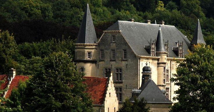 Kastelen in het Geuldal Valkenburg aan de Geul (Zuid-Limburg)