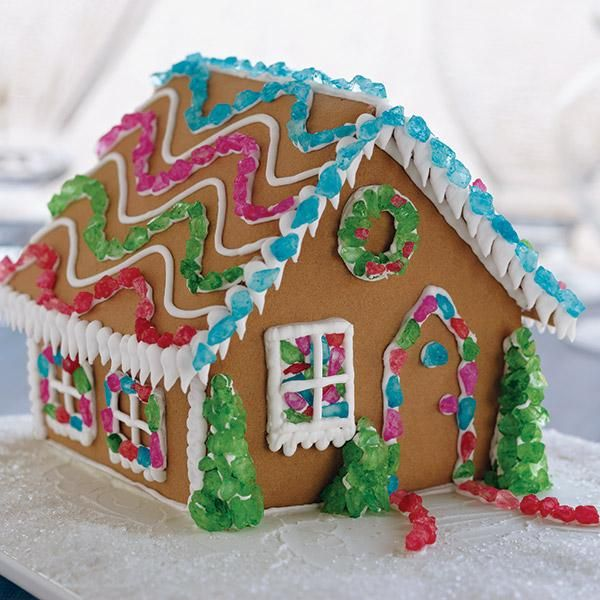95 best gingerbread is in the house images on pinterest ginger wilton colorful sugar gems light up any gingerbread house in a twinkling just build our solutioingenieria Choice Image