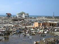 Kedasyatan tsunami aceh