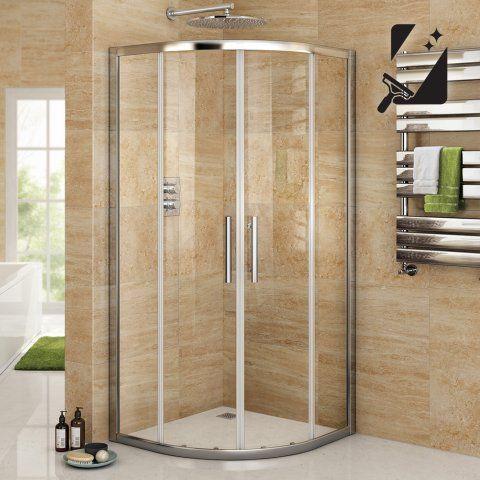 8mm - Premium EasyClean Quadrant Shower Enclosure