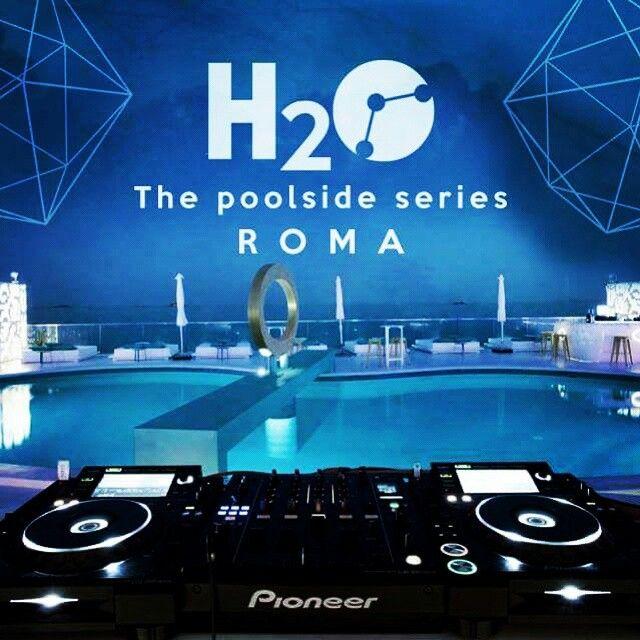 H2o-techno pool party @ la casetta