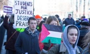Website targets pro-Palestinian students in effort to harm job prospects
