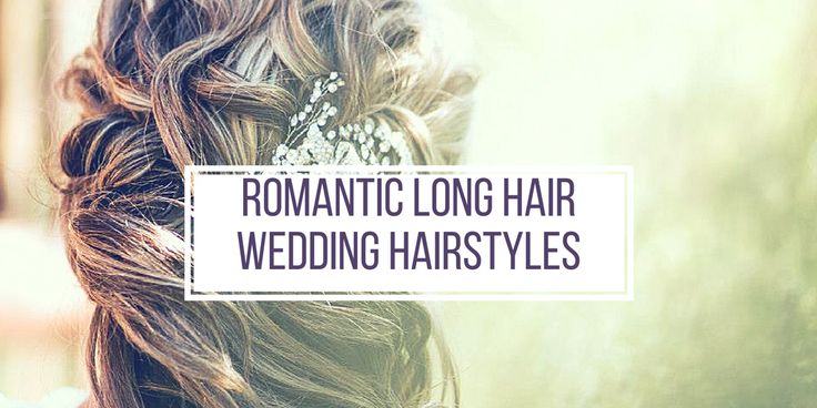 Romantic Long Hair Wedding Hairstyles - Insirations - Makeup by Lauren.