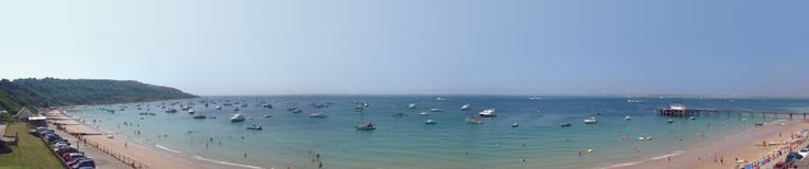 The Waterfront at Totland Bay - great views, great food, usually great live music too!