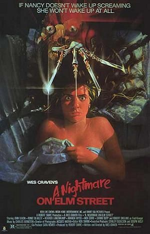 """For 1984 it was like nothing you'd ever seen. Freddy is my favorite slasher now and forever.  """"one, two, freddy's coming for you.  Three, four better lock your door.  Five, six grab your crucifx.  Seven, eight better stay up late.  Nine, ten never sleep again."""""""