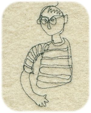 I can teach you how to draw with a sewing machine www.janetclare.co.uk