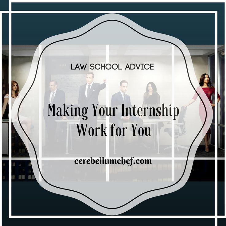 Getting the Most From your Internship 72