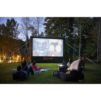 Inflatable Home Theater System - 16'x9'
