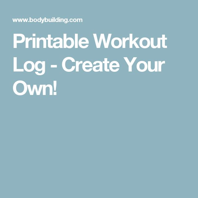 25+ Best Workout Log Ideas On Pinterest | Volleyball Workouts
