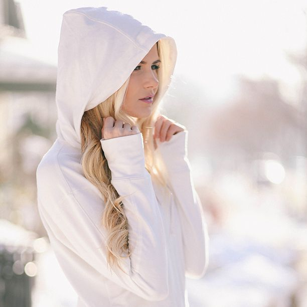 Signature Hoodie, Ivory: Style, Fitness, Wardrobe, Athletic Tops