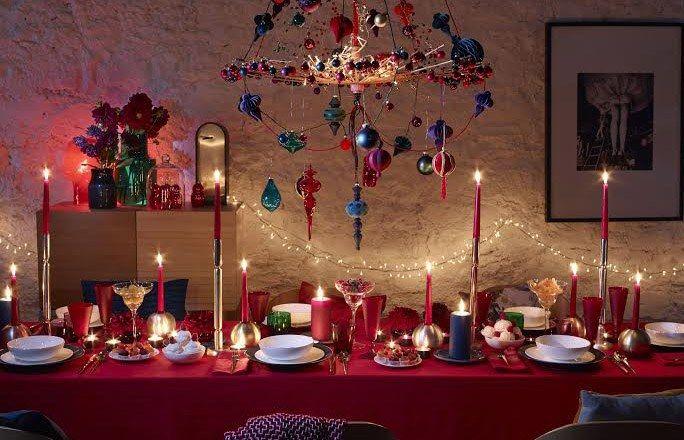 Ma table de Noël montre le chemin