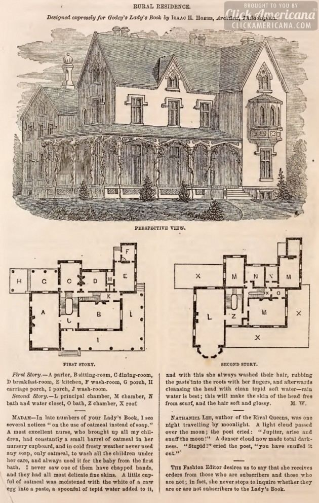 79 best vintage house plans 1800s images on pinterest for House floor plan books