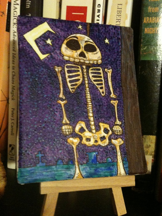 Saturday Night Bone Dance by PaintByPaul on Etsy, $55.00