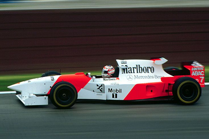 Nigel Mansell signs for McLaren but his comeback lasts just two races before he retires, 1995