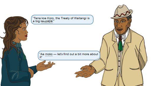 Treaty of Waitangi for kids