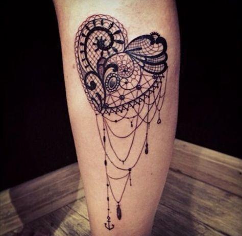 35 Amazing Lace Tattoo Designs (20)