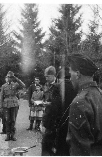 ANOTHER FUNERAL AT POW CAMP, STALAG 18A