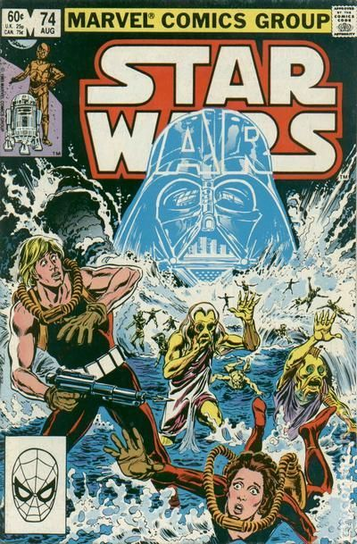 STAR WARS 74, MARVEL COMICS