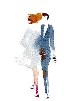 0b5f8b18b97 Faire part Mariage - AquaNell Peinture - Aquarelles mariages et décoration