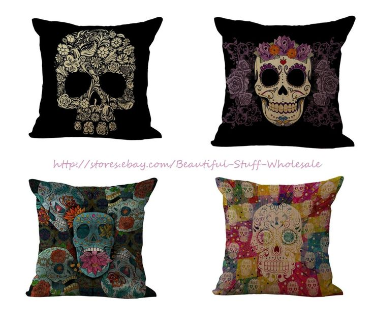 Cheap Sectional Sofas Set Of Sugar Skull Death Cushion Covers Throw Pillows For Leather Couch