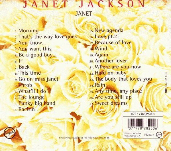 Album: janet. / 1993 - Janet Jackson