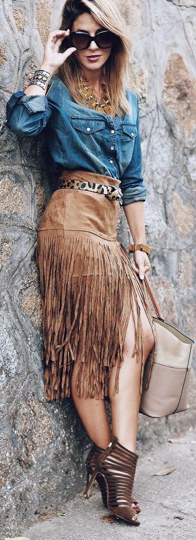 Tassel Skirt