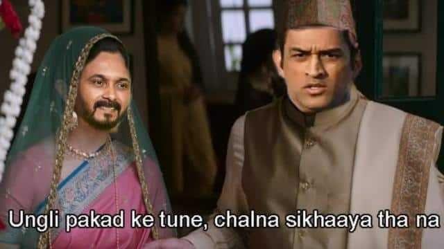 Ipl 2020 Kr Vs Csk Kedar Yadav And Dhoni S Funny Memes Go Viral After Defeat Against Kkr Man Of The Match Ipl Funny Memes
