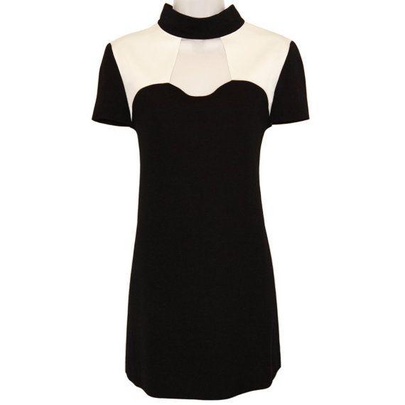 Vintage Courreges Dress, Minimal Mod, 1980s - Women's Fashion