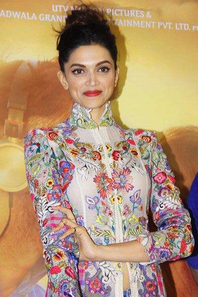 Deepika Padukone poses during Tamasha music celebration event