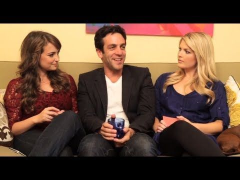 BJ Novak @ Let's Talk About Something More Interesting - YouTube. This is my new favorite show! Brilliant!