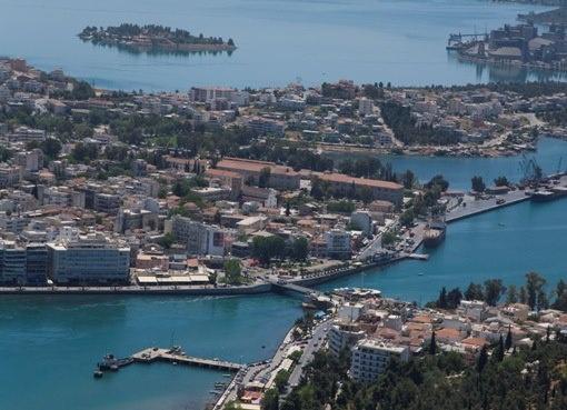 Chalkida city, Evia
