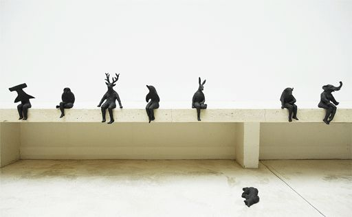 http://www.sculpturemac.net/tigre_de_tasmanie.html / Marianne Abergel