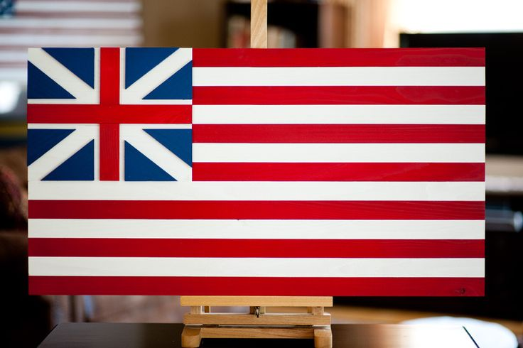 The Grand Union Flag is important--here are three things you should know about it. Learn about this flag, and see Patriot Wood's wooden Grand Union flag!