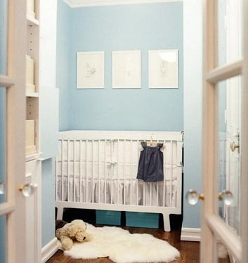 Closet Blue Nursery.