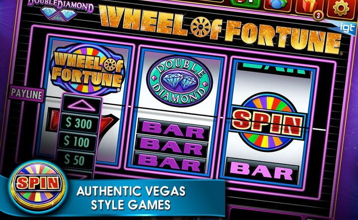 Play the original WHEEL OF FORTUNE slot machine with the app DOUBLE DOWN CASINO and GET PROMO CODES FOR FREE CHIPS!!