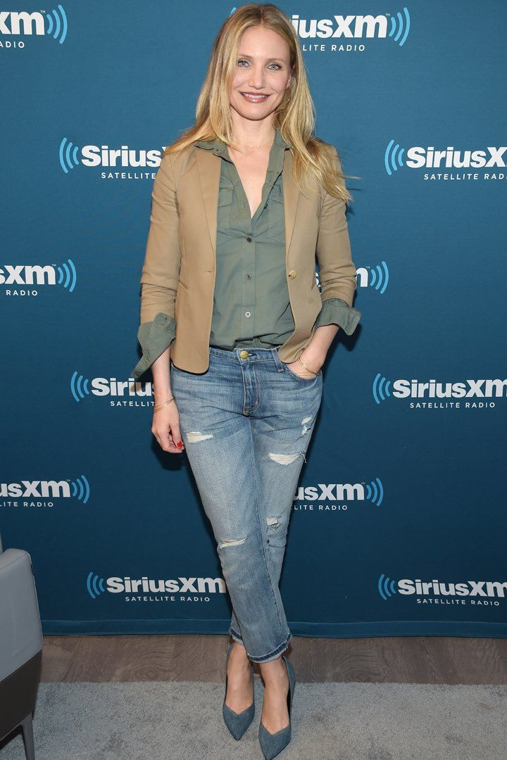 Cameron Diaz Pulled the Ultimate Cool-Girl Spring Style Move