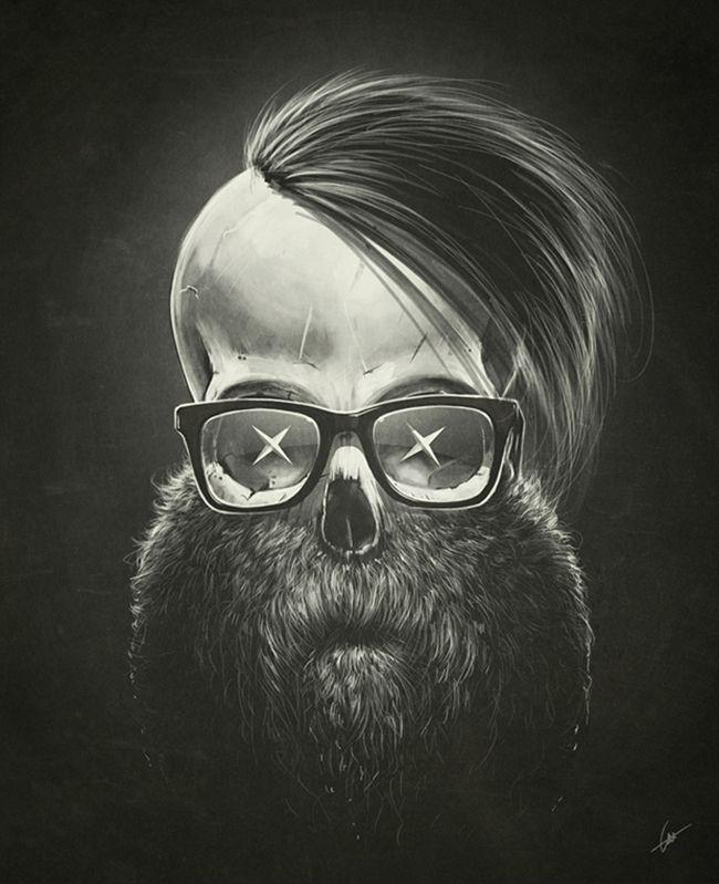 Dr. Lukas Brezak's macabre artworks