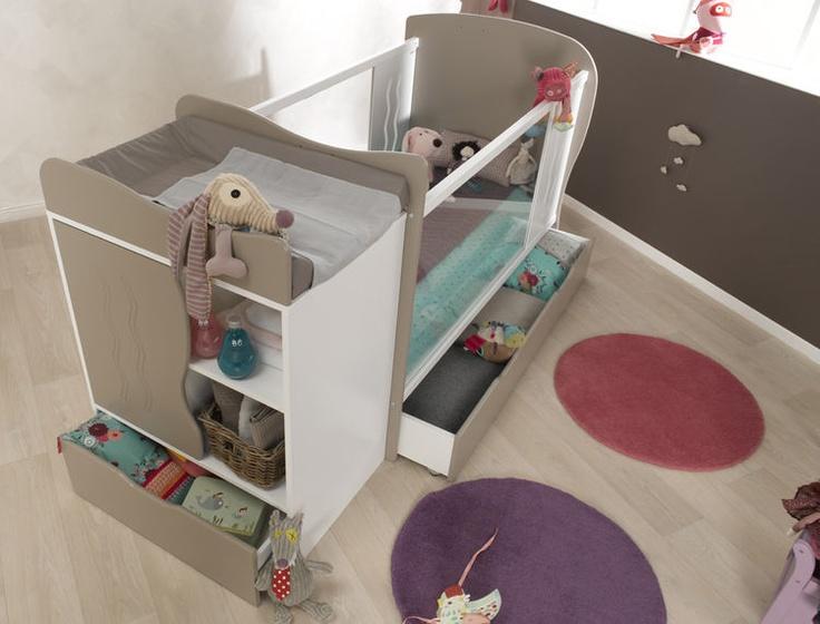 Idee Deco Salon Gris Et Bleu Turquoise : Meuble Bébé on Pinterest  Meubles bébé, Meuble rangement chambre