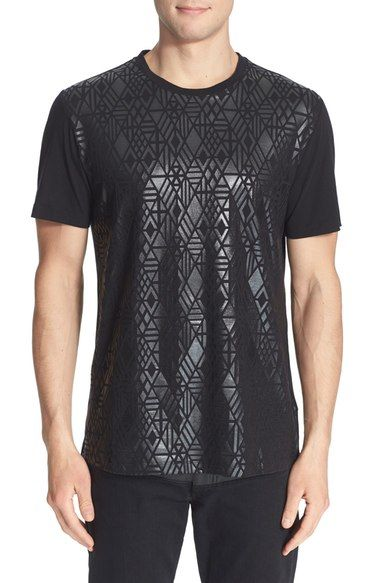 Versace Metallic Screenprint T-Shirt available at #Nordstrom